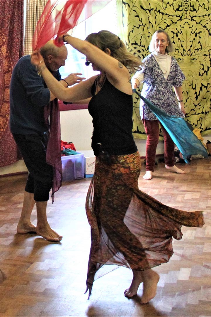 About 7th Ray therapeutic dance and shamanic dance workshops